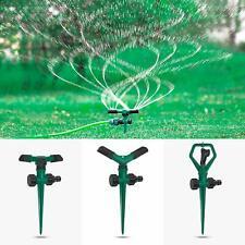 Lawn Sprinklers Three Pack Rotating Adjustable Garden Sprinklers Kids Play