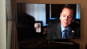 "Samsung 65"" Smart Curve TV 4k Ultra HD HDR QLED TV Q7C RRP £3000"