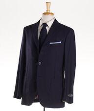 NWT $2995 BELVEST Unstructured Navy Blue Lightweight Cashmere Sport Coat 40 R