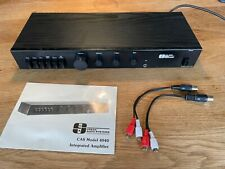 Creek CAS4040, British integrated amp with phono stage.