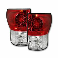 RECON 264188RD Toyota Tundra 2007-2013 Red-Red Tail Lights LED