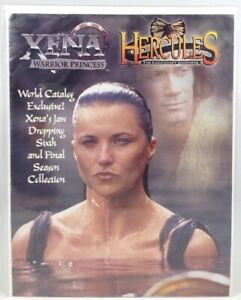 Xena and Hercules, Catalog Xena's Jaw Dropping 6th and Final Season Collection