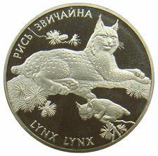 (m53) - Ucraina - 2 Hryvni - 2001-LINCE-LYNX-K - N-CDC-unc km # 111