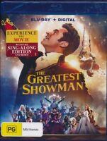 Greatest Showman Blu-ray Bluray NEW + digital Region B