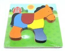 giochi puzzle in legno per bambini cavallo