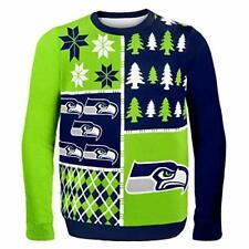 Seattle Seahawks Christmas Sweater   Size XL