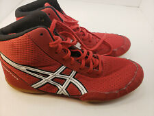 Asics Matflex C545N Youth Wrestling Shoes Red Size 6 Youth Slightly Used