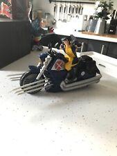 Marvel Legends Universe X-Men Wolverine bike figure Hasbro 2008 Disney Avengers