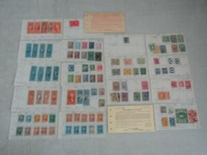 Nystamps E Old US BOB Revenue stamp collection with better