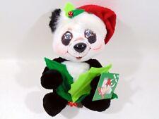 "Annalee Collectibles 9"" Holly Panda 2010"