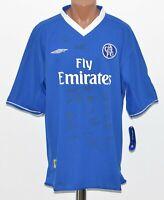 CHELSEA LONDON 2003/2004/2005 HOME  FOOTBALL SHIRT JERSEY UMBRO SIZE XL
