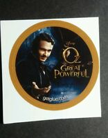 OZ THE GREAT AND POWERFUL JAMES FRANCO PHOTO GET GLUE STICKER