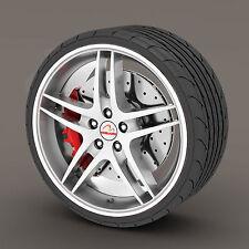 White Rimblades Alloy Wheel Edge Ring Rim Protectors Tyres Tire Guard Rubber