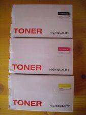Stock Tre Toner B/M/Y compatibili per Epson AcuLaser C1700 series/CX17 series