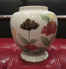 Lovely Vintage Andrea by Sadek Hand Painted Floral No. 8181 RARE Vase EXCELLENT!