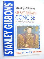 Catálogo Stanley Gibbons Gran Bretaña Conciso, Excelente Estado