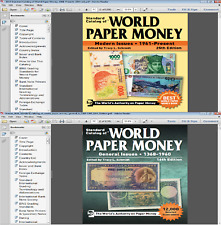 2019 Standard Catalog of World Paper Money.1961-Present.(25th) +1368-1960 (16th)