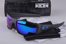 Sunglasses Polarized Crankshaft Matte Black/Blue Mercury Iridium