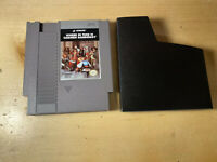 Where in TIME is Carmen Sandiego?  NINTENDO NES Authentic  With Dust Sleeve.