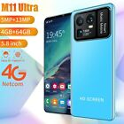 """5.8"""" Smartphone Android 10 Dual Sim Card 4gb Ram 64gb Storage Mobile Cell Phone"""