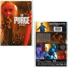 THE PURGE 1 (2018): Horror US TV Season Series based on the movies - NEW Rg1 DVD