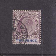 LAGOS-1904-KEVII-2d DULL PURPLE/BLUE-SG 56-W/M MCA-F/U-$6-freepost