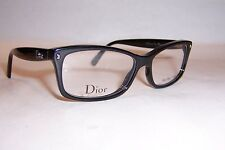 NEW CHRISTIAN DIOR EYEGLASSES CD 3232 29A BLACK 52mm RX AUTHENTIC