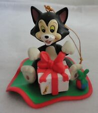 Disney Pinichhio Cat FIGARO Grolier Christmas Ornament