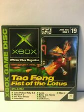 Official Xbox Demo Disc June 2003 Disc 19 Disc+ Sleeve