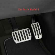 For Tesla Model 3 Anti-Skid Car Accelerator Pedal Brake Pads Foot Rest Cover
