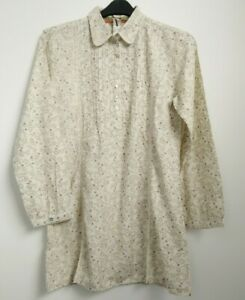 Mistral Cotton Floral SHIRT DRESS TUNIC SIZE 12, 14, 16