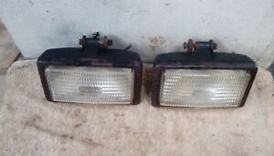 TWO ORIGINAL FORD TRACTOR Q CAB WORK LIGHTS