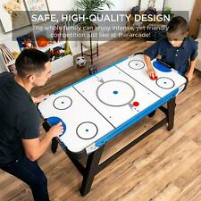 Air Hockey Table 58 Inch With 2 Pucks 2 Paddles And Digital Led Score Board New