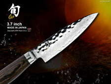 "Shun Premier Damascus Fruit Paring Knife 3.7"" Peeling Knife Japanese Cookware"