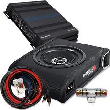 Crunch / Vibe Optisound CV-BP8 Basspack - Verstärker Subwoofer Kabelset 500 Watt
