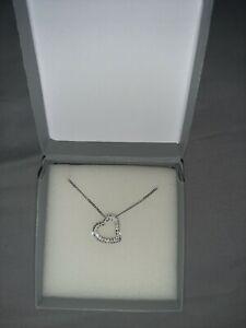 Swarovski heart necklace genuine - not in original box