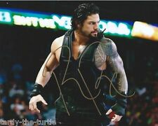 WWE  Roman Reigns #2  8 x 10 Autograph RAW Smackdown Believe THAT