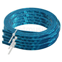 5 Pcs Blue Celluloid 5 mm Wide Guitar Binding Purfling For Luthier Maker
