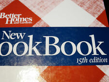 Better Home & Gardens New COOKBOOK 2010 15th Edition Red & White Cover Ring Bind