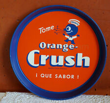 Mexican Mexico tray Soda Orange Crush Crushito Crushy 1940s RARE
