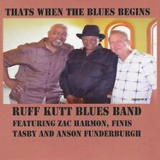 Ruff Kutt Blues Band - That's When the Blues Begins [New CD] Professionally Dupl