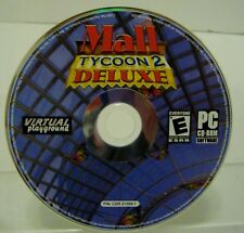 Mall Tycoon 2 Deluxe (PC, 2004) Virtual Playground CD ROM Windows Computer Game