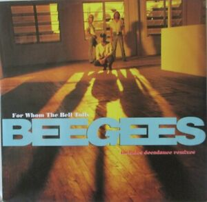"""BEE GEES - For Whom The Bell Tolls ~ 12"""" Single PS"""