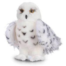 "New Wizard Snowy Owl Plush Stuffed Animal Toy 12"" White Hedwig Child Cuddle Gift"