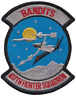 417th Fighter Squadron 417 FS United States Air Force USAF Embroidered Patch