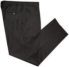 IMPERFECT HUGO BOSS BLACK LABEL BROWN WOOL ALL SEASON MENS DRESS PANTS 40