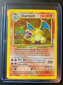 Pokemon Legendary Collection Charizard Holo 3/110 Good Condition PSA Gradable