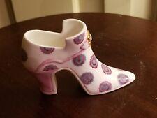 Halcyon Days Porcelain 1996 Annual High Heel Shoe