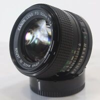 Canon FD f/1.4 50mm FAST / Mirrorless Lens / Canon SLR A-1 AE-1 F-1 CNFD50MMF1P4