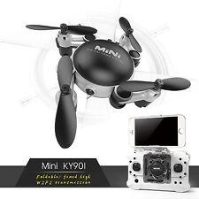 Mini RC Quadcopter 2.4GHz 4CH 6-Axis Gyro 3D UFO Drone FPV with WIFI Nano Camera